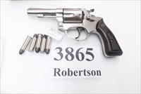 Rossi .38 Special model 33 Nickel 3 in Snub 5 Shot Grips 38 Smith & Wesson Special Caliber 36 Chief's Special Copy Interarms 1970s Non +P