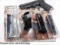 3 Beretta 92 92F 92FS M Nine 9mm Mec Gar 10 Shot Magazines 3x$26 California Compliant with Sub Option