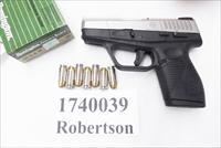 Taurus .40 S&W PT740 Slim Frame .98 thick Stainless 7 Shot Sub Compact 40 Smith & Wesson Caliber 1740039FS New in Box 1 Magazine