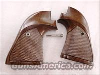 Colt Scout Grips 22 Single Actions 1980s Sile Italian Walnut Adaptable for F.I.E. Buffalo Scout E15 Excam Tangfolio TA76 Heritage Arms Rough Rider .22 Revolvers