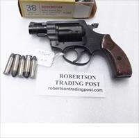 Rohm .38 Special RG31 Snub Nose 2 inch 5 Shot 1978 Production Exc NC Gun 38 Spl