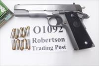 Colt 9mm Stainless Government Model NIB 2 Magazines 10 shot 1911 O1092 ***Free Goods Promo expires 12/31/15***