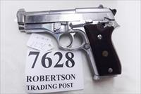Taurus .380 model PT58 SS Stainless 1580149 Very Good 1 Magazine Wood Grips 1993 Production Extra Magazine Offer