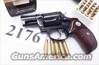 Taurus .357 Magnum Model 605 Blue Steel 2 inch with 1970s Walnut Combat Grips Smith & Wesson Model 36 Chief's Special copy Snub Nose 38 Spl 357 Mag 2 inch Excellent in Box Factory Demo 2605021 CA OK