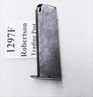 Star 9mm Model Super B Factory 9 Round Magazine 1970s Spanish Guardia Issue Very Good Condition Blue Steel 1297F