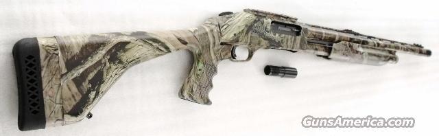 Mossberg 12 gauge model 535 Turkey Thug 3 1/2 inch Tactical Receiver Rail  Camo Pistol Grip Stock