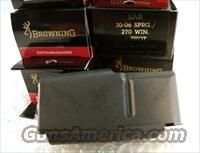 Browning BAR Factory 4 Shot Magazines for .270 .280 .30-06 calibers Old Model Pre 1994 B.A.R. No Mk II Browning Automatic Rifle Pre-Mark II Long Action 270 280 3006 1320081 Buy 3 Ships Free!