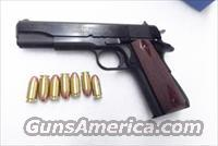 Colt .45 ACP Series 70 Government Custom Shop Special Run New in Box O1970A1CS Govt Model 1911 Series 45 Automatic Blue & Rosewood