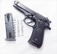 Beretta 92 9mm 15 Shot Factory Magazines fit both Old Model 92S and New 92F 92FS JM92HCB type LE Marked 1990s