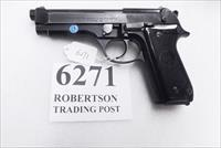 Beretta 9mm model 92S Italian Military Police VG+ c1978 Brunitron Frame, Oxide Slide & Barrel w1 15 round Magazine +OR