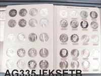Kennedy Half Dollar Set 1964-1992 Lacks only 90-S Incl. Proofs all AU/BU AG335