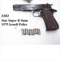 Star 9mm B Super Israeli Police 1975 Good 9 Shot 1 Magazine SuperB
