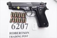 Beretta 9mm model 92S Italian Carabinieri VG JS92F300M type / ancestor c1978 with 1988 Commemorative Marking VROB