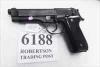 Beretta 9mm model 92S Italian Military Police VG+ JS92F300M type / ancestor c1978 Brunitron Frame, Oxide Slide & Barrel w1 15 round Magazine +OR