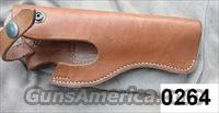 Smith & Wesson Leather Holster No 1153 for Ruger 4 inch .22 ca 1980 GL0264