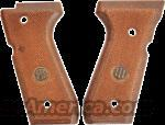 Beretta 92SB Factory Italian Checkered Walnut Grips OK for 92F 92FS 96 Series New Old Stock