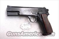 FEG 9mm Hi-Power Israeli Vent Rib Commander Hammer Good Cond ca 1978 with Mec-Gar 10 Shot Magazine