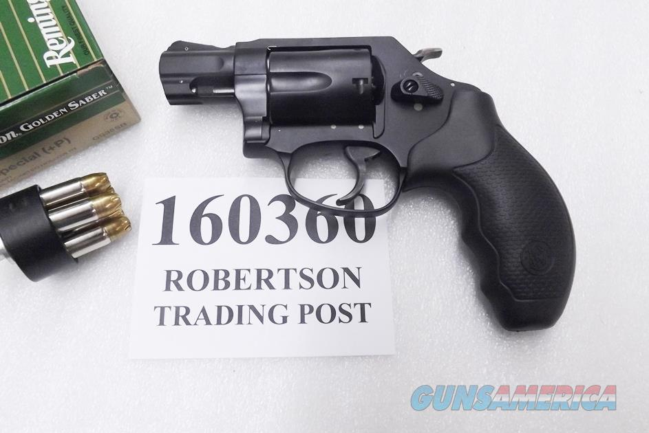 Smith & Wesson  38 Special +P model 360 Scandium Frame 2 inch Snub 5 shot  Airweight 160360