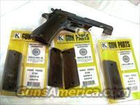 Grips for Star Spain 9mm Model Super B Triple K Ebony Hardwood Diamond Checkered NIB 38 Super 9mm Largo Model B only Not Model B, BM, BKM or BS