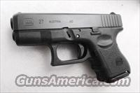 Glock  .40 S&W Model 27 Subcompact 10 Shot 2 Magazines 3rd Gen  NIB 40 Smith & Wesson caliber M27 sku PI2750201