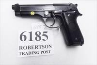 Beretta 9mm model 92S Italian Military Police VG+ c1978 w1 15 round Magazine Factory Gloss Anodized Frame, Blue Barrel & Slide +GB