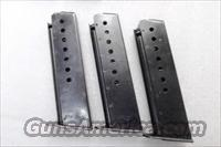 3Magazines Walther P-38 9mm P-1 Factory 8 Shot G-VG Condition German Federal Police P38 P1 Clip 3x$26
