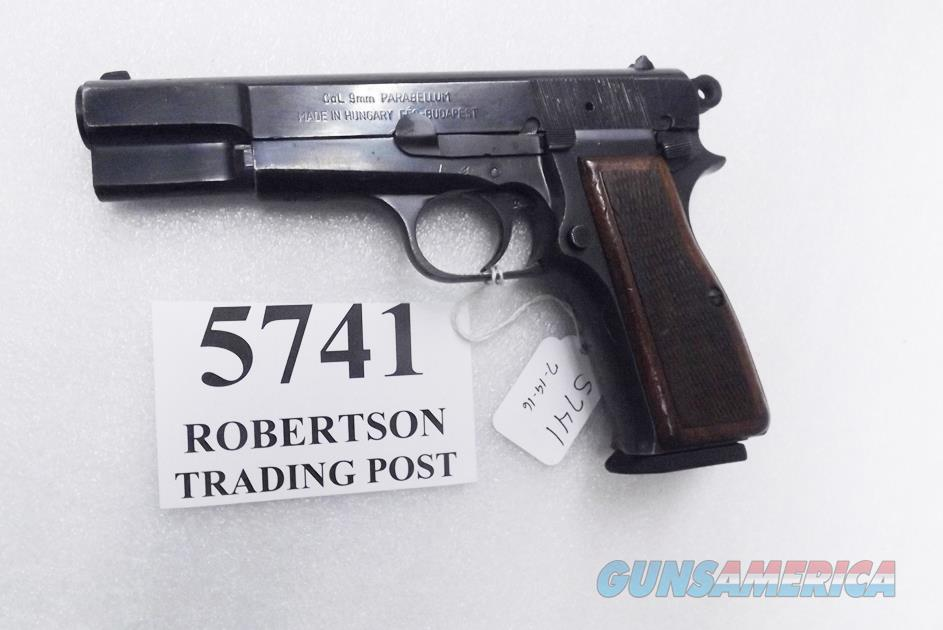 FEG 9mm Hi-Power Israeli G-VG 1995 Production V    for sale