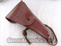 GI style Holster 45 Autos 1911 Pistols New India Leather WWI WWII type GL002 Colt Government Model 45 Automatic