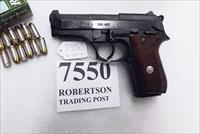 Taurus .380 model PT58 Blue 1580041 Very Good 1 Magazine Wood Grips 1990 Production Extra Magazine Offer