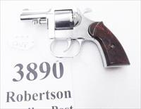 Clerke .32 S&W Revolver Clerke First 2 1/2 inch Nickel Pot Metal 32 Smith & Wesson Short Caliber 5 Shot 1976 Bicentennial Year Production