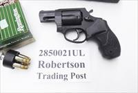Taurus .38 Special +P Model 85 Ultra Lite Blue Smith & Wesson Model 37 Airweight Chief copy Snub Nose 38 Spl 2 inch 17 oz Lightweight Alloy New in Box Factory 2850021ULFS $25 Rebate from Taurus