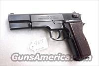FEG 9mm R9 P9R GKK92 Hi Power type Double Action Blue VG ca 1992 with Factory 10 Shot Magazine
