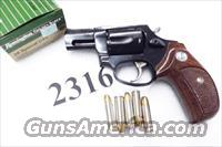 Taurus .38 Special +P Model 85 Blue Steel Snub with Walnut Combat Grips Smith & Wesson Model 36 Chief's Special copy Snub Nose 38 Spl 2 inch 21 oz Excellent in Box Factory Demo 2850021