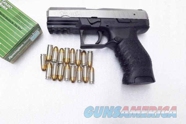 Walther 9mm model PPX M1 17 Shot 2 Magazines 3 Dot Sights Double Action  Only 2790122 Hammer Fired 10 round Magazines Available