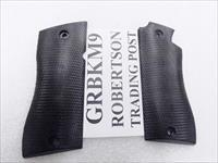 Grips for Star Model BKM Pistols Hard Black Polymer New Replacement GRBKM9  No BKS