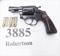 Rossi .38 Special Model 335 Blue 2 inch Snub Interarms 38 Special 1980s Pre Lock Model 68 351 type
