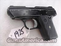 Davis .380 ACP model P380 Black 6 Shot G-VG Madison County Confiscated Gun from 2006