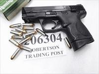Smith & Wesson 9mm M&P9C Compact 12 + 1 Melonite Stainless 3 Dot MP9C NIB 2 Magazines S&W 206304