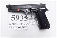 Beretta 9mm model 92S Italian Military Police JS92F300M type / ancestor c1978 Brunitron & Oxide Good 16 Round 1 Pre-Ban Magazine 7ROO
