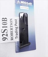 Beretta 92S 92F 92FS M Nine 9mm Mec Gar 10 Round New Modified Magazines CA CT DC HI MA MD NY Compliant Buy 3 Ships Free!