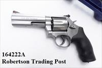 S&W .357 Magnum 686-6 Stainless 4 inch Full Lug 6 Shot 357 Mag 38 Special .38 Spl Interchangeably Smith & Wesson model 686 164222 New in Box CA OK