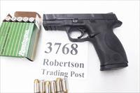 Smith & Wesson .45 ACP model M&P45 Black Stainless 4 inch 1 Magazine 2007 Shreveport PD VG 10113