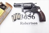 Rossi .38 Special model 68 Blue 2 1/4 in Snub 5 Shot Grips 38 Smith & Wesson Special Caliber 36 Chief's Special Copy Garcia 1973 Non +P