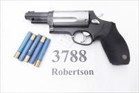 Taurus .45 / .410 Judge 3 inch Cylinder Chambers 3 in Barrel Stainless Cylinder Hammer Trigger with Matte Blue Frame 45 Colt 410 gauge 2 1/2 and 3 inch Shells Interchangeably 2441031DTMAG