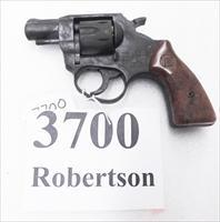 RG Rohm .22 LR model RG14S 1-3/4 inch Snub Nose 6 Shot Pull Pin Swingout Double Action Revolver 22 Long Rifle Germany Florida 1986 Final Year of Production