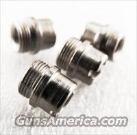 Colt Government Stainless Grip Screw Bushings Set of 4 any 1911 JMA4518S fit Officers Armscor AOC Kimber any 1911 Family Pistol