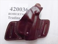 Triple K Leather Holster Secret Agent 420036 Beretta 92 96 Taurus 92 99 917 CZ75 type TA90 TZ75 Thumb Break Right Hand Brown Walnut Oil 3 ship Free!