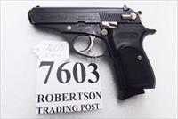 Bersa .380 ACP model Thunder 380 Duo Tone Chrome Levers 9 Round T380DT8 Black Slide & Frame Very Good to Exc Condition