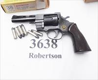 EAA Windicator Ancestor .38 Special FIE F38 Titan Tiger 4 inch 6 Shot Vent Rib Service Grips VG 1974 Production Standard 38 Smith & Wesson Special Ammunition