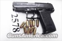 Heckler & Koch .45 ACP USP45C Variant 3 Compact 9 Shot 1 Magazine Night Sights 2002 Roanoke VA Police 215920 Firearm Handgun Pistol 45 Automatic H&K HK 704533